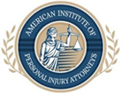 American Institute of Personal Injury Attorney Badge